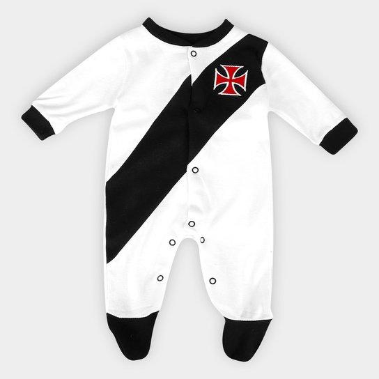 Macacão Vasco Bebê Escudo nº 10 Masculino - Compre Agora  ef812b815195a