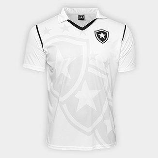 Camisa Botafogo Escudo c  Estrela Masculina afea92c7ca011