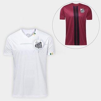 2a5807f42d Camisa Santos 2011 s n° - Torcedor + Camiseta Santos Dorval 17
