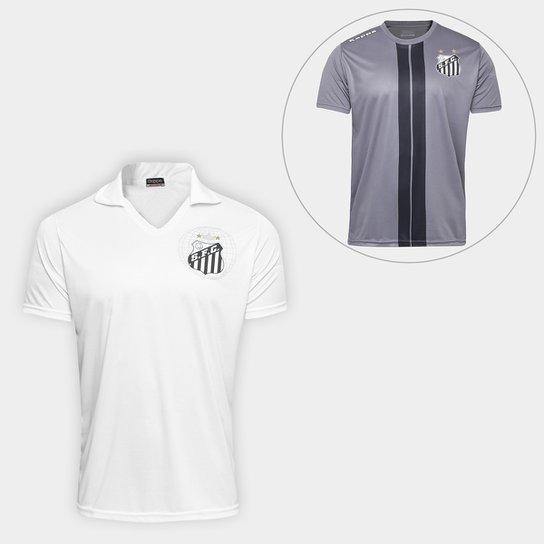 Camisa Santos 2010 s nº + Camiseta Santos Dorval 17 - Compre Agora ... ca85d5d940e61