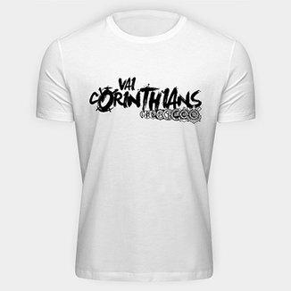 5a3767d62aaf2 Camiseta Vai Corinthians Masculina