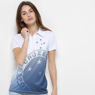 d40781039d Camisa Polo Cruzeiro Shadow Feminina
