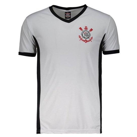 c9bca6e459 Camisa Corinthians Max Masculina - Branco - Compre Agora