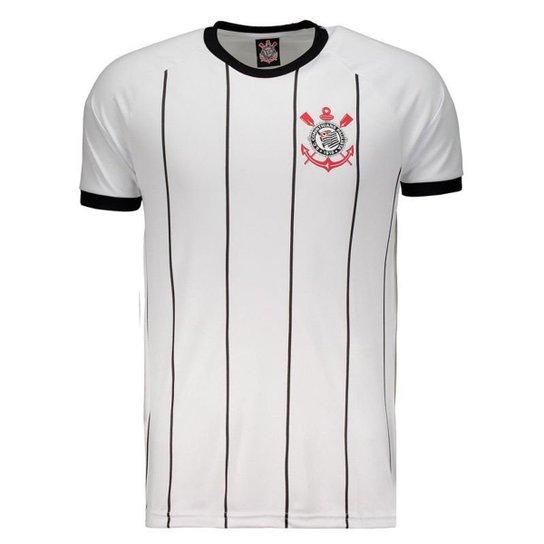 Camisa Corinthians Sublimada Branca - Branco - Compre Agora  eeb7e56f28a14