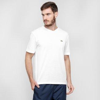 Compre Camiseta Gola V Lacoste Online   Netshoes 502b526707