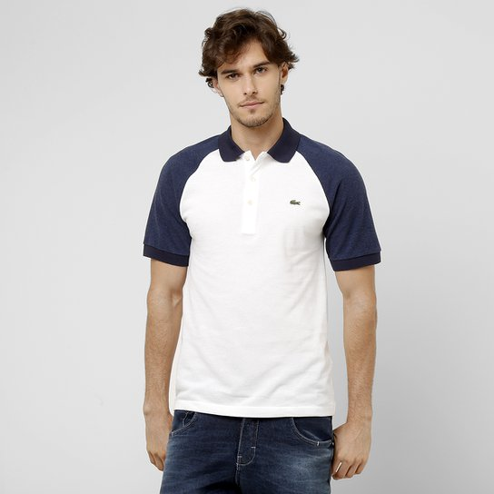 ... Camisa Polo Lacoste Raglan Regular Fit - Compre Agora Netshoes  903aa373d6bb92 ... 7d8bf01fa79ef