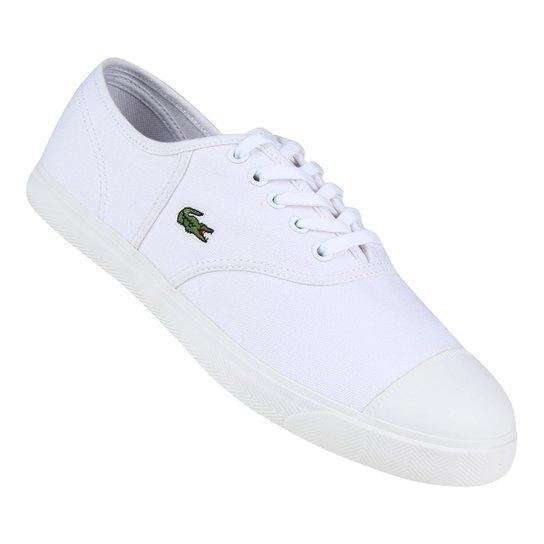 Tênis Lacoste René Feminino - Branco - Compre Agora   Netshoes 68c6cb60cc