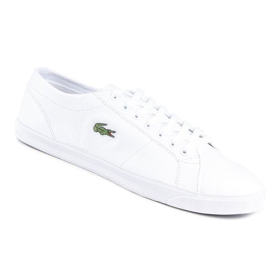 Tênis Lacoste Q1 Marcel Masculino - Branco - Compre Agora   Netshoes 1b0d173640