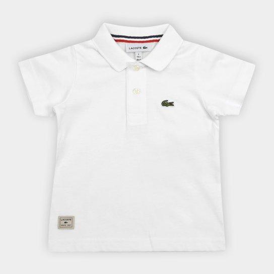 Camisa Polo Infantil Lacoste Masculina - Compre Agora   Netshoes a0dbaf13ec