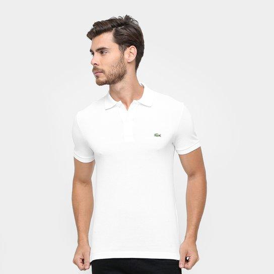 9b71ed83823c8 Camisa Polo Lacoste Piquet Slim Fit Masculina - Compre Agora