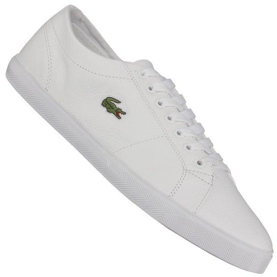 Tênis Lacoste Marcel Lcr3 Brz Spm - Branco - Compre Agora   Netshoes 9d013cfaba