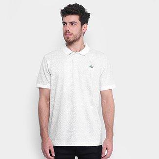 502236b819 Camisa Polo Lacoste Texturizada Masculina