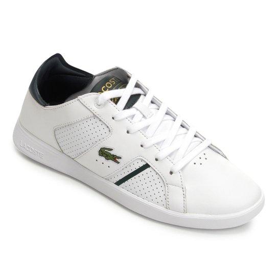 Tênis Lacoste Novas Ct 118 Masculino - Branco - Compre Agora   Netshoes 10de8b1d32