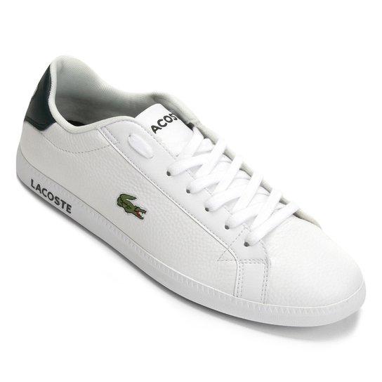 608021e099490 Tênis Lacoste Graduate Masculino - Branco - Compre Agora   Netshoes