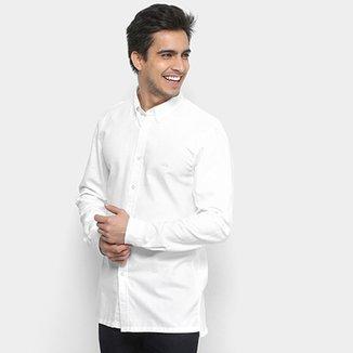 Camisa Lacoste Manga Longa Básica Masculina 5435130a5cc