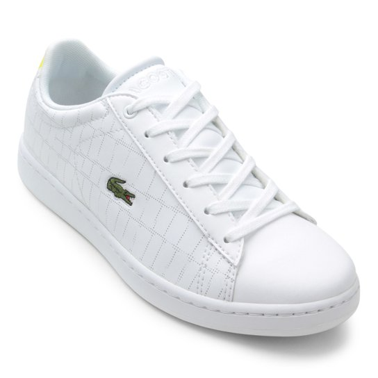 Tênis Lacoste Infantil Carnaby - Compre Agora   Netshoes 5a9f932987
