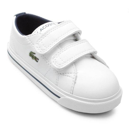 Tênis Lacoste Infantil Riberac - Branco - Compre Agora   Netshoes 4d0bbe0fc9