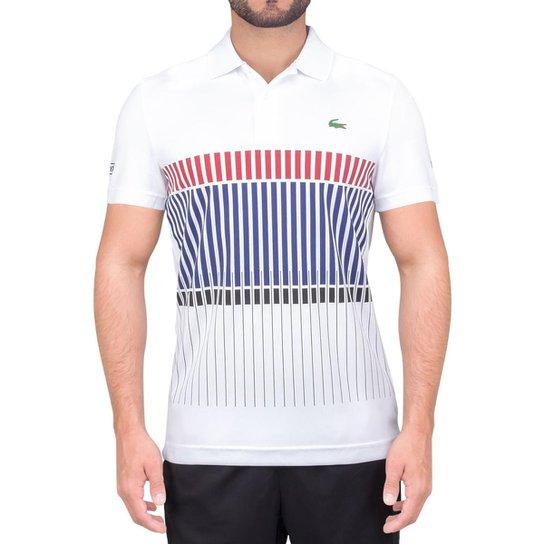 Camisa Polo Lacoste Graphic Tennis Djoko Masculina - Compre Agora ... 48a9598969