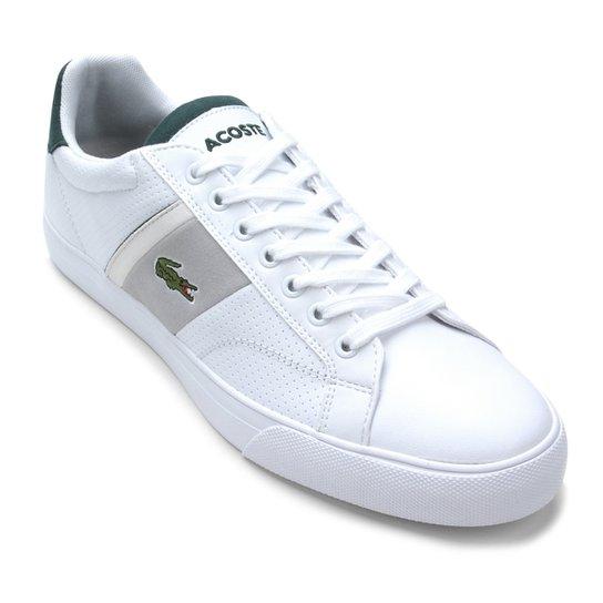 Tênis Lacoste Fairlead - Branco - Compre Agora   Netshoes 02618832dc
