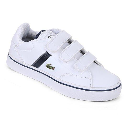Tênis Lacoste Infantil Fairlead Masculino - Compre Agora   Netshoes 06e8735aa8