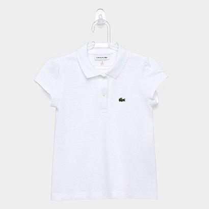 Camisa Polo Infantil Lacoste Feminina