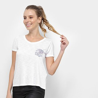 Camiseta Rip Curl Savannah Pocket Feminina