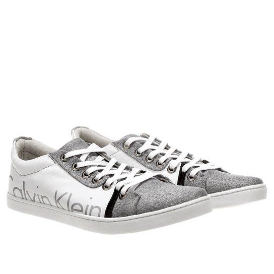 6c9276645bb5e Sapatênis Calvin Klein Logo - Compre Agora   Netshoes