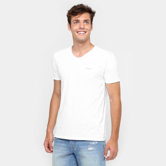 Camiseta Calvin Klein Básica - Compre Agora   Netshoes 54fe81395a