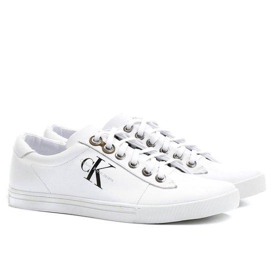 5c58aaf1cadc2 Sapatênis Calvin Klein Lottie Moss - Compre Agora   Netshoes