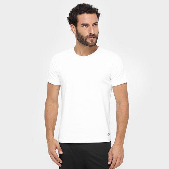 60728209012d3 Kit Camiseta Calvin Klein Básica 2 Peças - Compre Agora