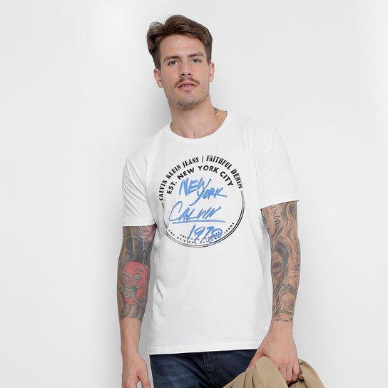 Camiseta Calvin Klein New York City Masculina - Compre Agora  f676865177c