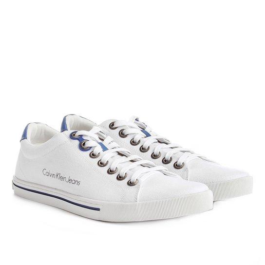 f3d8c8c7d Sapatênis Calvin Klein Lona Masculino | Netshoes