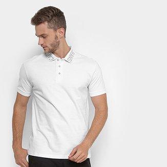 c54c767a1c Camisa Polo Calvin Klein Gola Personalizada Masculina