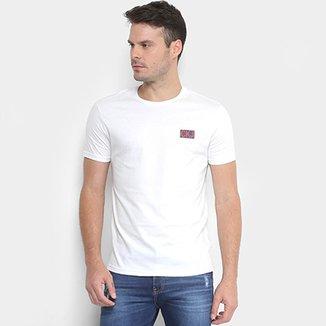 Camiseta Calvin Klein Logo Masculina 2218c73a74e64