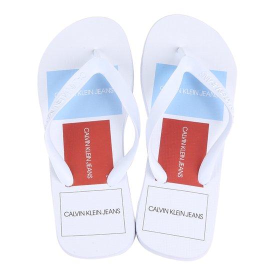 bf7c9916f3d94 Chinelo Calvin Klein Jeans Dedo Masculino - Compre Agora