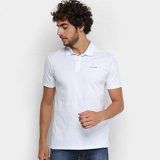Camisa Polo Calvin Klein Piquet Básica Masculina 151d2704c5e4a