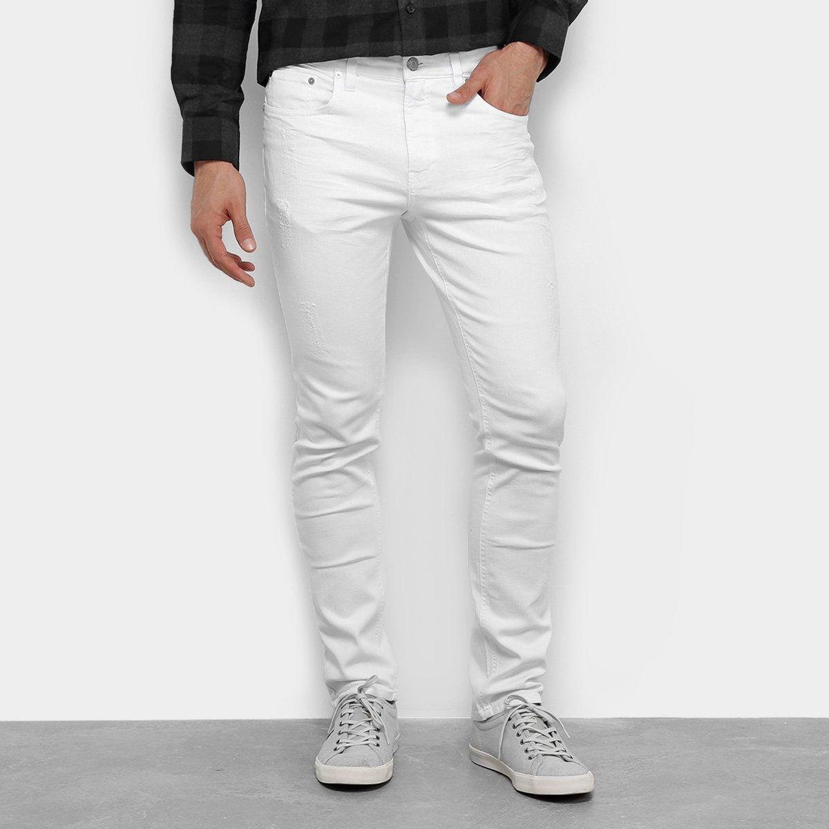 6480728c8 Calça Jeans Slim Calvin Klein Color Five Pockets Masculina