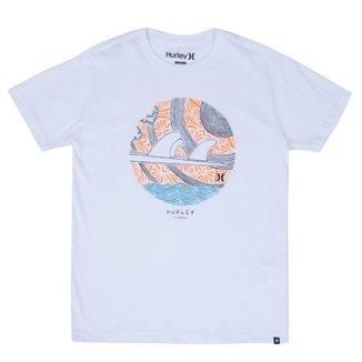 Camiseta Hurley Juvenil Havaí 4e65ba11eff