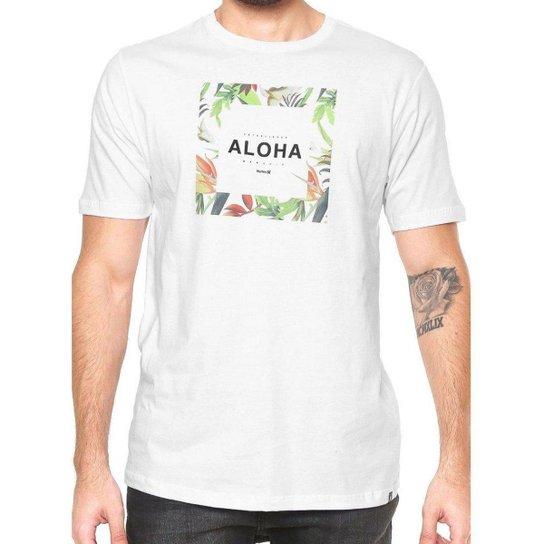 Camiseta Hurley Silk Hawaii Hunt - Branco - Compre Agora  6f0360dd97f
