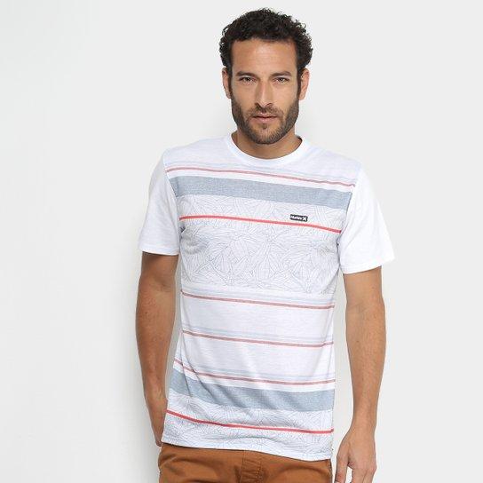 600f5d76db Camiseta Hurley Silk Especial Pupokea Max Masculina - Branco ...