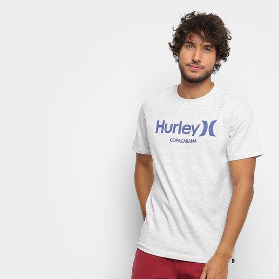 Camiseta Hurley Silk Copacabana Masculina - Branco - Compre Agora ... 12c1a6b9765a8