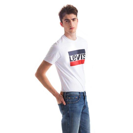 24ae85b9dc Camiseta Sportswear Logo Levis - Branco - Compre Agora