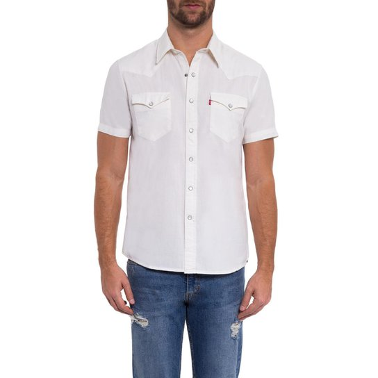Camisa Sunset Classic Western Levis - Compre Agora  e47930a0853