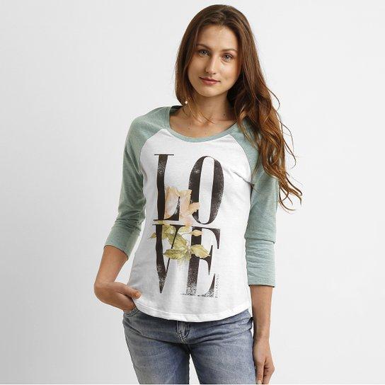 Camiseta Billabong Love 3 4 - Compre Agora  5d48ae78ef2