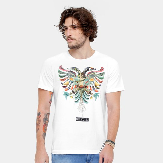 f78098877 Camiseta Cavalera Águia Brasil Masculina - Compre Agora