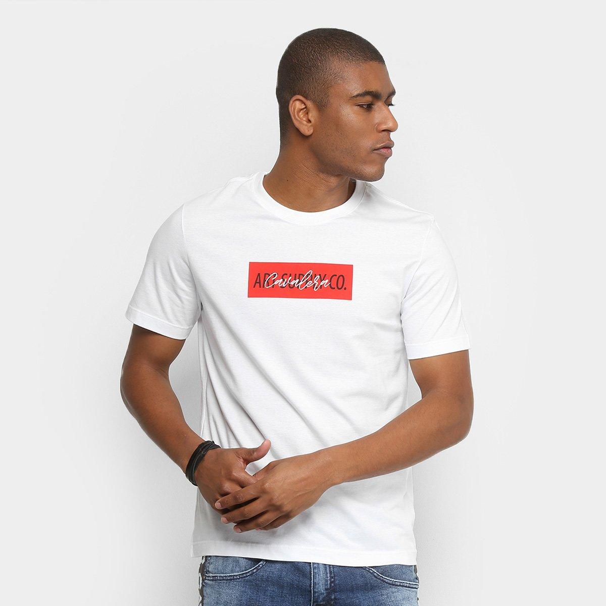 0dcc9d9035 Camiseta Cavalera Onda 1995 Gola Ampla Masculina