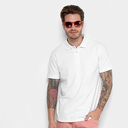 Camisa Polo Básica Cavalera Manga Curta Masculino