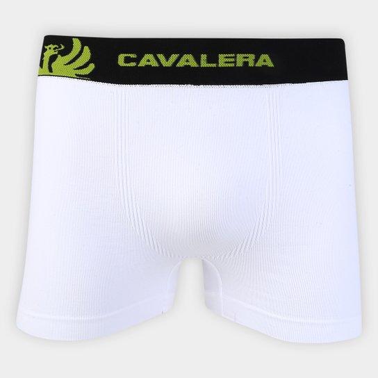 e44f0f679f51b0 Cueca Boxer Cavalera Masculino - Branco