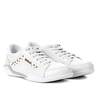 caae0b540 Compre Tenis Feminino Branco de Couro Online | Netshoes