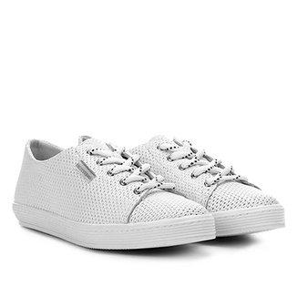 d1e9e8a2ca Compre Tenis Feminino Couro Branco Online